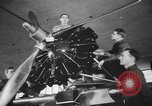 Image of U.S. flying cadets learn about airplane systems and parts Texas USA, 1940, second 11 stock footage video 65675076483