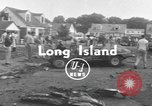 Image of crash landing Long Island New York USA, 1954, second 1 stock footage video 65675076493