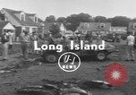 Image of crash landing Long Island New York USA, 1954, second 2 stock footage video 65675076493