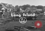 Image of crash landing Long Island New York USA, 1954, second 4 stock footage video 65675076493