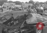 Image of crash landing Long Island New York USA, 1954, second 5 stock footage video 65675076493