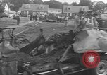 Image of crash landing Long Island New York USA, 1954, second 6 stock footage video 65675076493