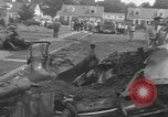 Image of crash landing Long Island New York USA, 1954, second 7 stock footage video 65675076493