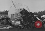 Image of airplane crash Connecticut USA, 1954, second 8 stock footage video 65675076494