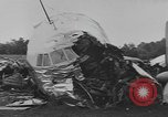 Image of airplane crash Connecticut USA, 1954, second 9 stock footage video 65675076494