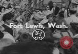 Image of Audie Murphy Tacoma Washington Fort Lewis USA, 1954, second 2 stock footage video 65675076498