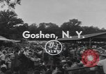 Image of Hambletonian racing Goshen New York USA, 1954, second 5 stock footage video 65675076499