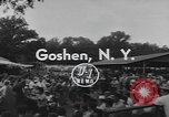 Image of Hambletonian racing Goshen New York USA, 1954, second 6 stock footage video 65675076499