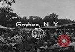 Image of Hambletonian racing Goshen New York USA, 1954, second 7 stock footage video 65675076499