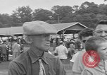Image of Hambletonian racing Goshen New York USA, 1954, second 11 stock footage video 65675076499