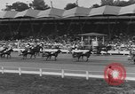 Image of Hambletonian racing Goshen New York USA, 1954, second 12 stock footage video 65675076499