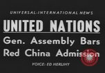 Image of United Nations General Assembly New York City USA, 1954, second 2 stock footage video 65675076501