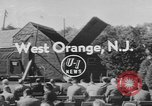 Image of unveiling plaque West Orange New Jersey USA, 1954, second 1 stock footage video 65675076503