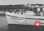 Image of American scuba divers Gulf of Mexico, 1954, second 1 stock footage video 65675076505