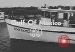 Image of American scuba divers Gulf of Mexico, 1954, second 2 stock footage video 65675076505