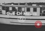 Image of American scuba divers Gulf of Mexico, 1954, second 4 stock footage video 65675076505
