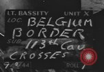 Image of United States soldiers Belgian border, 1944, second 7 stock footage video 65675076513