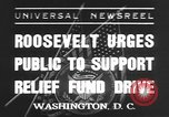 Image of Franklin Delano Roosevelt Washington DC USA, 1935, second 1 stock footage video 65675076522