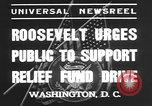 Image of Franklin Delano Roosevelt Washington DC USA, 1935, second 4 stock footage video 65675076522