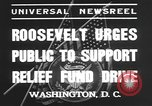 Image of Franklin Delano Roosevelt Washington DC USA, 1935, second 5 stock footage video 65675076522