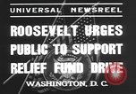 Image of Franklin Delano Roosevelt Washington DC USA, 1935, second 6 stock footage video 65675076522