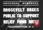 Image of Franklin Delano Roosevelt Washington DC USA, 1935, second 8 stock footage video 65675076522
