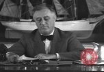 Image of Franklin Delano Roosevelt Washington DC USA, 1935, second 9 stock footage video 65675076522