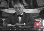 Image of Franklin Delano Roosevelt Washington DC USA, 1935, second 10 stock footage video 65675076522