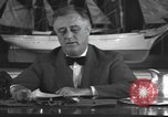 Image of Franklin Delano Roosevelt Washington DC USA, 1935, second 11 stock footage video 65675076522