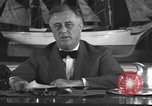 Image of Franklin Delano Roosevelt Washington DC USA, 1935, second 12 stock footage video 65675076522