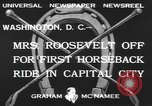 Image of Anna Eleanor Roosevelt Washington DC USA, 1933, second 5 stock footage video 65675076530