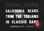 Image of football match Berkeley California USA, 1935, second 1 stock footage video 65675076539
