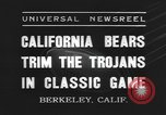 Image of football match Berkeley California USA, 1935, second 2 stock footage video 65675076539