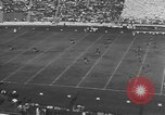 Image of football match Berkeley California USA, 1935, second 7 stock footage video 65675076539