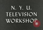 Image of television industry antennas New York City USA, 1950, second 9 stock footage video 65675076545