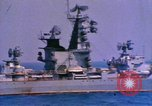 Image of Soviet Kresta-Class I Guided Missile Cruiser Mediterranean Sea, 1966, second 2 stock footage video 65675076552