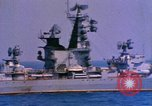 Image of Soviet Kresta-Class I Guided Missile Cruiser Mediterranean Sea, 1966, second 3 stock footage video 65675076552