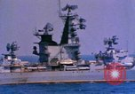 Image of Soviet Kresta-Class I Guided Missile Cruiser Mediterranean Sea, 1966, second 4 stock footage video 65675076552