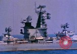 Image of Soviet Kresta-Class I Guided Missile Cruiser Mediterranean Sea, 1966, second 5 stock footage video 65675076552