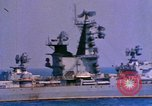 Image of Soviet Kresta-Class I Guided Missile Cruiser Mediterranean Sea, 1966, second 6 stock footage video 65675076552