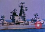 Image of Soviet Kresta-Class I Guided Missile Cruiser Mediterranean Sea, 1966, second 7 stock footage video 65675076552