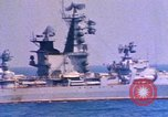 Image of Soviet Kresta-Class I Guided Missile Cruiser Mediterranean Sea, 1966, second 8 stock footage video 65675076552
