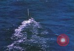 Image of Submarine at periscope depth Mediterranean Sea, 1966, second 10 stock footage video 65675076553