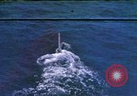 Image of Submarine at periscope depth Mediterranean Sea, 1966, second 12 stock footage video 65675076553