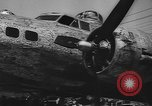 Image of Boeing aircraft plant in World War 2 Seattle Washington USA, 1944, second 12 stock footage video 65675076569