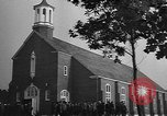 Image of women Marines in church United States USA, 1944, second 4 stock footage video 65675076577