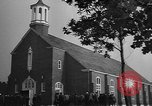 Image of women Marines in church United States USA, 1944, second 5 stock footage video 65675076577