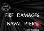Image of damage from fire Norfolk Virginia USA, 1944, second 2 stock footage video 65675076586
