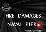 Image of damage from fire Norfolk Virginia USA, 1944, second 3 stock footage video 65675076586