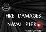 Image of damage from fire Norfolk Virginia USA, 1944, second 5 stock footage video 65675076586